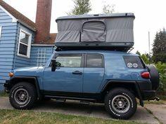 FJ cruiser james baroud usa Truck Camping, Camping Life, Tent Camping, Glamping, Fj Cruiser Mods, Toyota Fj Cruiser, Land Cruiser, Suv Trucks, Toyota Trucks