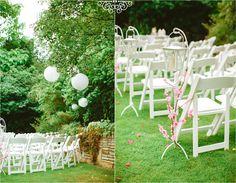 Wedding Venue Decorations, Wedding Venues, Table Decorations, Outdoor Weddings, Real Weddings, Ladder Decor, Home Decor, Wedding Reception Venues, Wedding Places