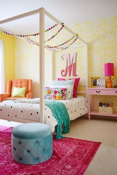 Delicieux Girlu0027s Bedroom Reveal Is Up On The Blog! The Kate Spade Bedding From Home  Goods