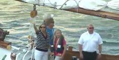 Royal visit Sail Amsterdam 2015
