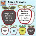Use these large apple frames to dress up worksheets and make posters, journal covers, game boards, educational resources, and much more! The produc...
