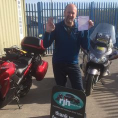 A fantastic fault free DAS Mod1 pass for James at St Helens this morning coming from our Manchester school. Good work 😎😎😎🏍