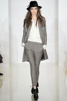 Rachel Zoe, Fall 2012.  love the menswear