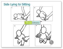 Facilitating Side-Lying to Sitting in Infants