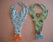 pacifier bib??!!? Where were these when my kids were little?