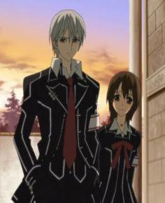 Zero Kiryu and Yuki Cross- Vampire Knight