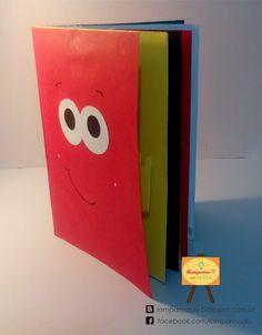 Lamparina - DIY: Livro sem palavras 3D - DIY