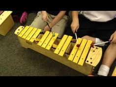 My kids playing What Makes You Beautiful on the barred instruments- they figured it out all by themselves!