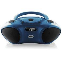 Hamilton Buhl 6 Station Basic Bluetooth/CD/FM Listening Center