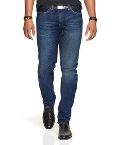 Polo Ralph Lauren Varick Rockford-Wash Slim Fit Jeans