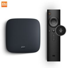 [Global Version] Xiaomi MI BOX 3 Android TV 6.0 Smart Box Quad Core Set-top Box with Youtube Netflix 4K DTS IPTV Media Player