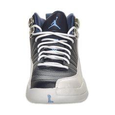 super popular 7d2d3 6ad8b Boys  Grade School Air Jordan Retro 12 Basketball Shoes ( 35) ❤ liked on