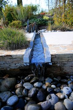 Rebeyrol créateur de jardins, aménagement de jardins limoges,  fontaine,