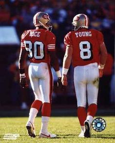 Jerry Rice and Steve Young...lOveD these football days!!