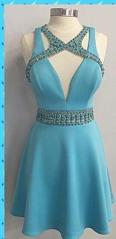 Charming Prom Dress, Sexy Prom Dress, Sleeveless Party