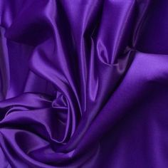 Luxury Purple Duchess Satin Silky Polyester Fabric material sold by the metre 150cm