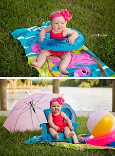 summer photography session 6 month old baby girl FriendswoodTx Sarah Victoria Photography Summer Baby Pictures, 6 Month Baby Picture Ideas, Baby Girl Pictures, Newborn Pictures, Baby Girl Photography, Summer Photography, Baby Am Strand, Baby Monat Für Monat, Unisex Baby Names
