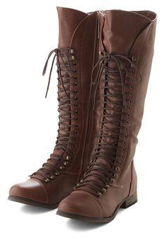 Follow the Cedar Boot in Medium Brown