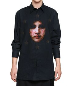 Givenchy Madonna Cotton Canvas Oversized Shirt – $1040 (Givenchy Spring Summer 2013 Collection)