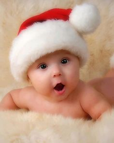 Adorable Christmas Baby