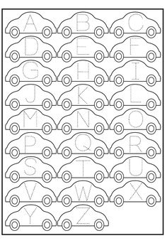 Printable ABC Traceable Worksheets   Activity Shelter Abc Tracing, Shape Tracing Worksheets, Writing Practice Worksheets, Tracing Letters, Preschool Letters, Alphabet Letters, Spanish Alphabet, Free Printable Alphabet Worksheets, Letter Worksheets
