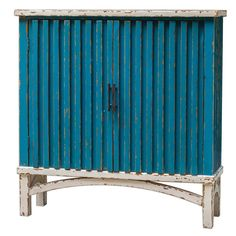 Uttermost Juhani Blue Accent Chest