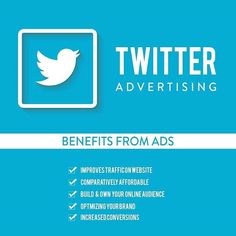 unaware about the power of social media channels to advertise your business? pay a look how twitter advertising does it all for you and increase your reach to potential customers. Visit http://mindcliff.com/ #advertise #branding #business #seo #startup #MindcliffSolutions #appdevelopment #socialmediamarketing #websitedevelopment #corporatebranding #Mindcliff #twitter http://ift.tt/2tkLhqW