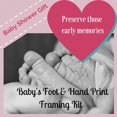Finding a unique gift for new parents or parents-to-be is often a challenge but this baby foot and hand print framing kit is perfect if you want something personal that will be treasured forever. The pretty 2 panel owl print…Read more → Keepsake Baby Gifts, Gifts For New Parents, Owl Print, Baby Feet, Christening, Baby Shower Gifts, Unique Gifts, Hands, Memories