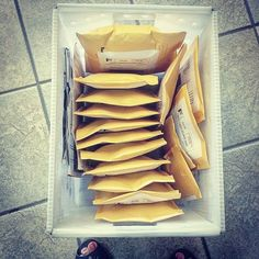 Etsy orders shipping out today! I've got packages going all over the US and also Italy Australia and Spain! Woohoo!   #etsy #handmade #jewelry #shippingworldwide #shipping #usps