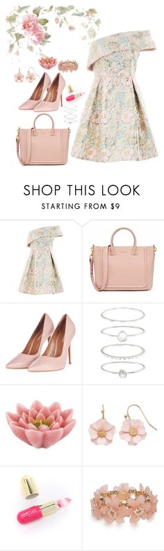 """""""Untitled #288"""" by bitty-junkkitty ❤ liked on Polyvore featuring Topshop, Accessorize, Pink Lotus, LC Lauren Conrad, Winky Lux and New Directions"""