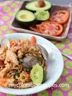 Arroz Mixto Colombiano (Colombian-Style Seafood, Chicken and Pork Rice)