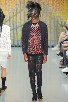 Sibling Spring 2015 Menswear Collection Slideshow on Style.com