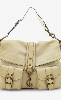 Coach Cream Shoulder Bag 54