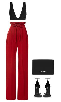 """They could never blame us"" by stephchika ❤ liked on Polyvore featuring Rodarte, Yves Saint Laurent and Zimmermann"