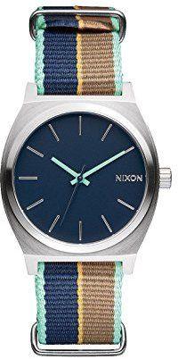 Nixon Women's A0452079 Time Teller Analog Display Japanese Quartz Multi-Color Watch