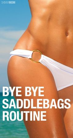 Get in shape this winter with this lower body saddlebag routine.