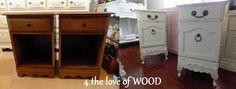 4 the love of wood: ARLENE's - bedside cabinets