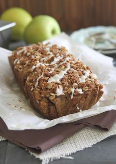 Apple Streusel Bread Recipe on Yummly. @yummly #recipe