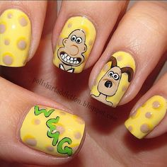 wallace and gromit nails
