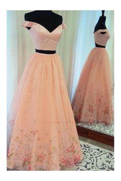 Custom Made Vogue Prom Dress Two Piece 8601cd2c7f91