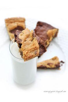 Cookie + brownie cake