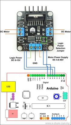 2A Dual motor controller sample diagram