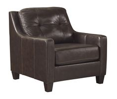Fiona Leather Arm Chair