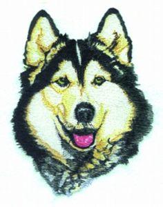 Balboa Embroidery Designs | Huskey $13