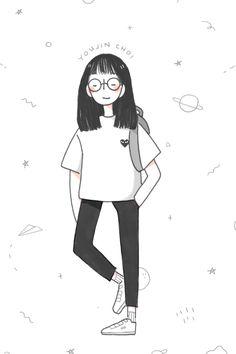 // art // drawing // inspiration // illustration // artsy // sketch // hair //