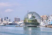Genoa aquarium and biosphere