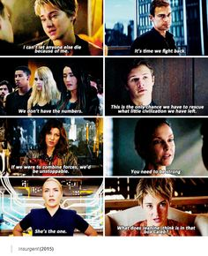 Insurgent (2015) | ignore the box... Don't think about it... The box... The freaking box!!! Ugh... Why is there a box?!?