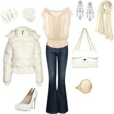 Dress up in soft & elegant colours when you head out tonight!
