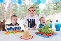 Liam's Ocean Sea themed 5th Birthday Party! 5th Birthday, Birthday Cake, Birthday Parties, Special Day, Special Events, Birthdays, Ocean, Holidays, Party