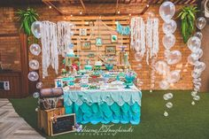 The Little Mermaid Birthday Party Ideas | Photo 10 of 56